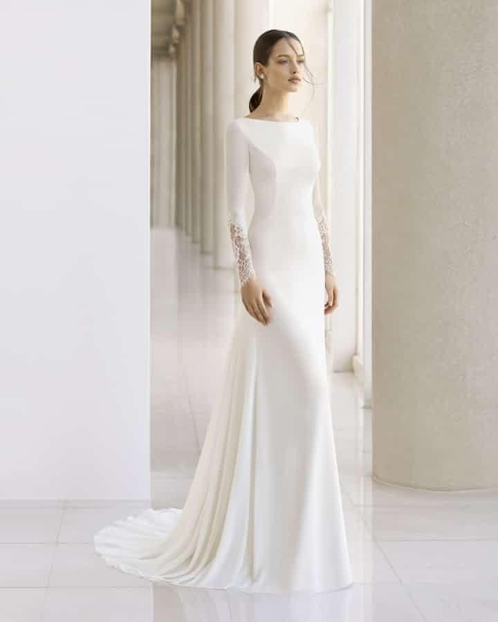 78bd6cce9d 40 vestidos de noiva simples para as noivas minimalistas