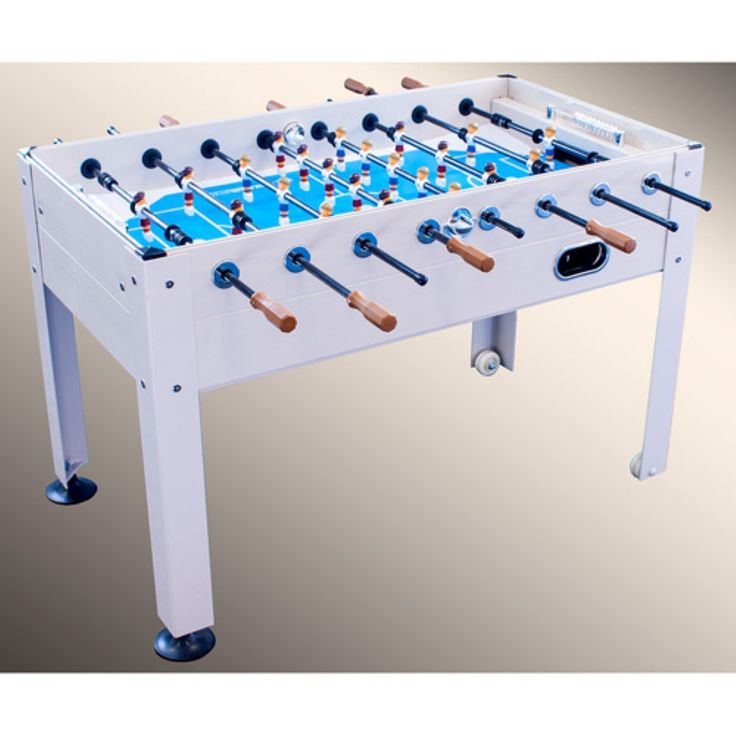 Park & Sun Blue Sky 1100 Beechwood Outdoor Foosball Table - Take your favorite game outdoors with the incredible Park & Sun Blue Sky 1100 Beechwood 53 in. Outdoor Foosball Table . This pro foosball table is...