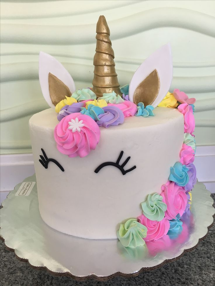Unicornio Unicorn Ideas In 2019 Birthday Cake Unicorn