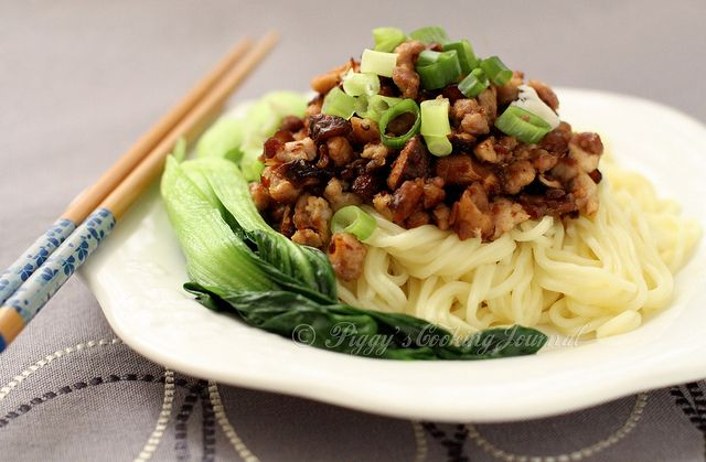 pork noodles w/ XO sauce| Taiwanese cuisine