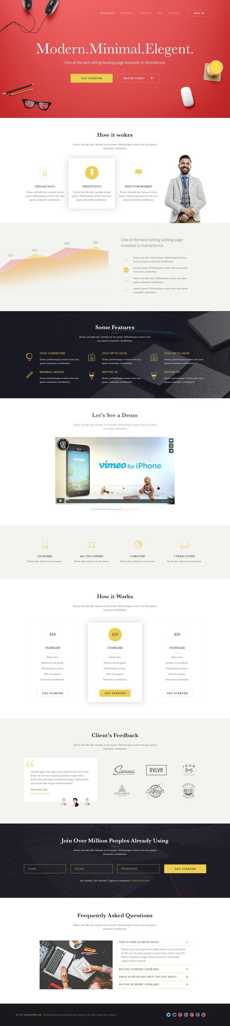 440 best Layout Design images on Pinterest | Website designs ...