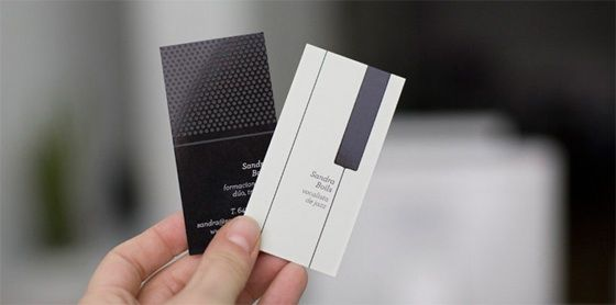 Creative musical business cards
