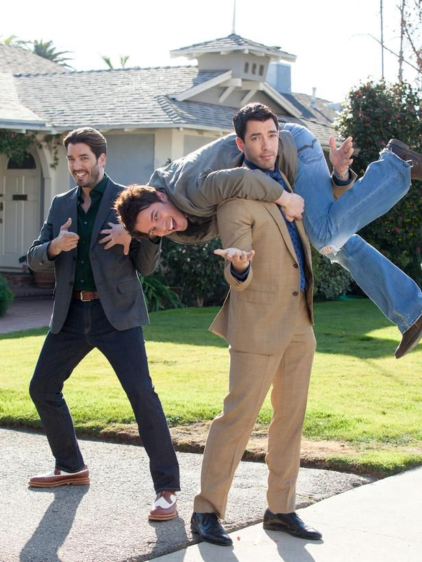 Brotherly Love - Go Behind the Scenes With Property Brothers Drew and Jonathan Scott on HGTV