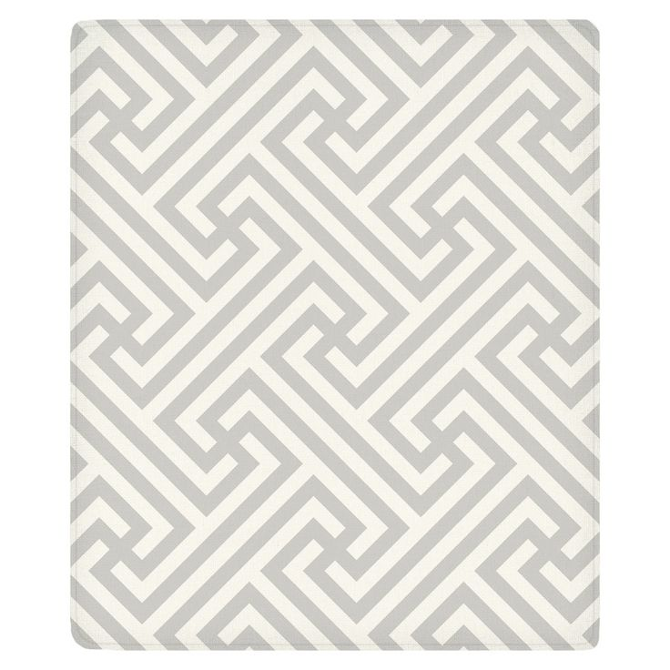 Impossible Labyrinth Fleece Throw