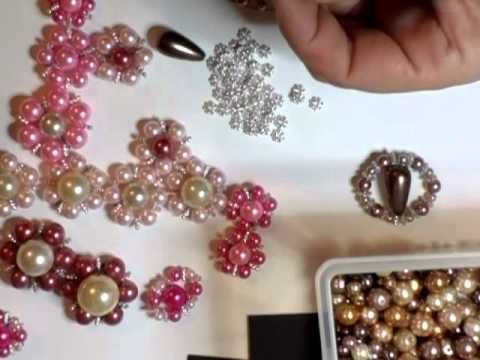 ▶ Billie-May's bling flowers all blinged up - jennings644 - YouTube