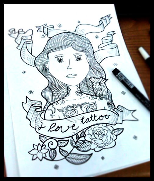*realy.. realy.. realy love tattoo  *by laras ajeng