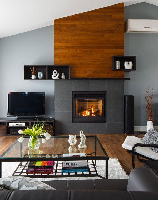 25 best ideas about slate fireplace on pinterest. Black Bedroom Furniture Sets. Home Design Ideas