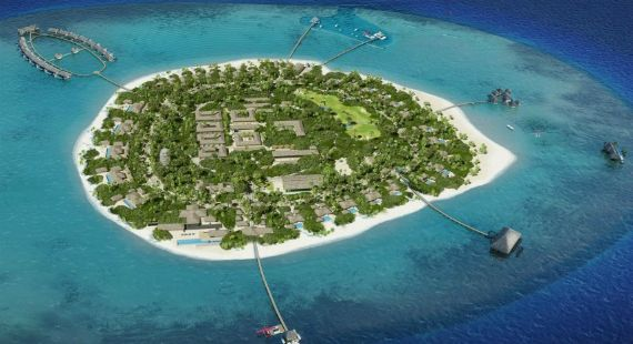 O resort mais luxuoso nas Maldivas #resort #viagem #hotel #spa #luxo #luxury #maldivas #ilha #travel #ferias