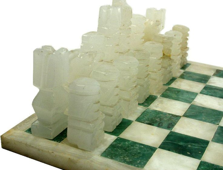 alabaster chess board pieces - Google Search