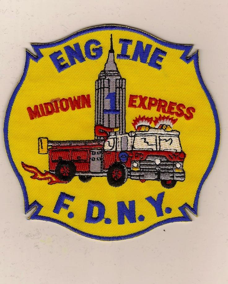 FDNY Engine 1 Midtown Express  www.nyfirestore.com