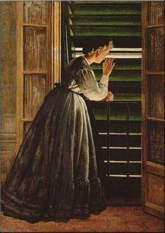Curiosité - 1866 - Silvestro Lega - (Collection Particulière)