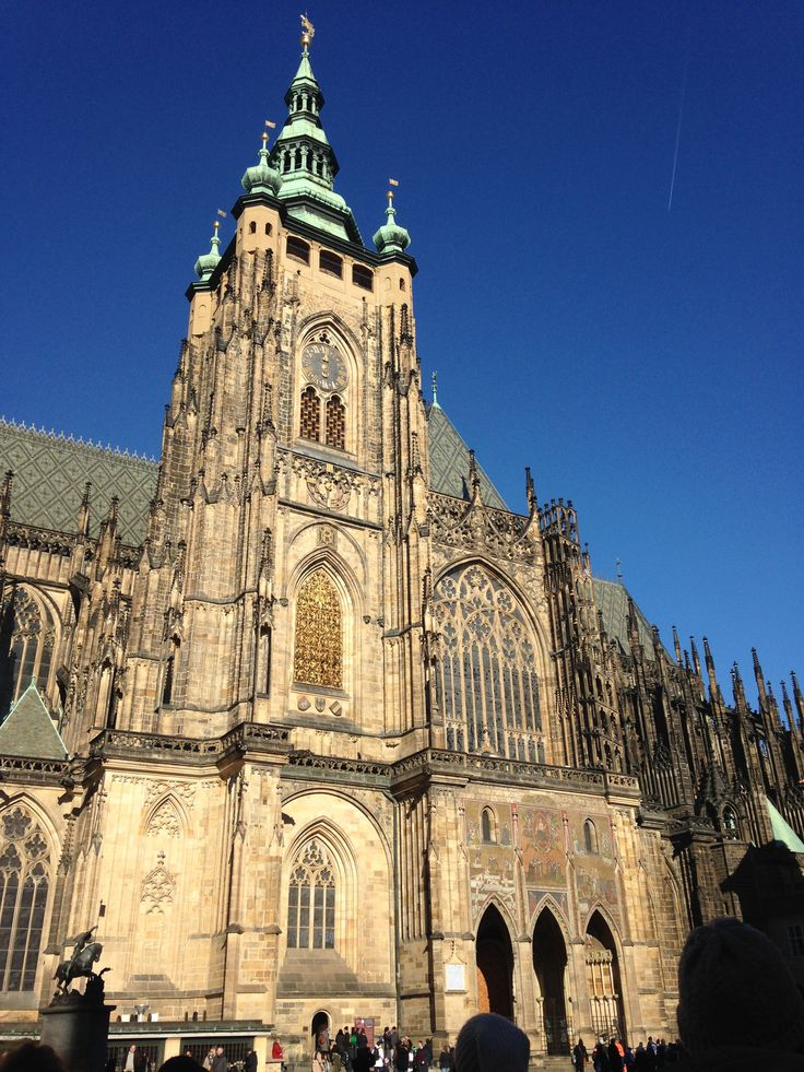 We were taken on a quick tour of the city after arriving in Prague. I had seen this gothic cathedral before, but only in art history classes!