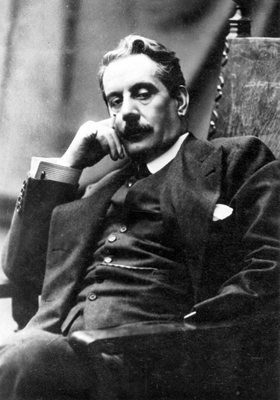 """Giacomo Puccini (1858–1924). Italian composer whose operas are among the most frequently performed in the standard repertoire. He has been called """"the greatest composer of Italian opera after Verdi"""". While his early work was rooted in traditional late-19th-century romantic Italian opera, he successfully developed his work in the 'realistic' verismo style, of which he became one of the leading exponents. His best known operas are: La bohème, Tosca, Manon Lescaut, Turandot, and Madama…"""