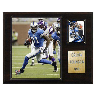 NFL 12 x 15 in. Calvin Johnson Detroit Lions Player Plaque - 1215CALVINJ
