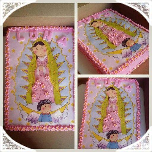 Torta Virgen de Guadalupe