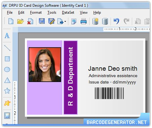 Rogai Info Software Details For Employee Id Cards 7 3 0 1 Employee Id Card Software Card Design