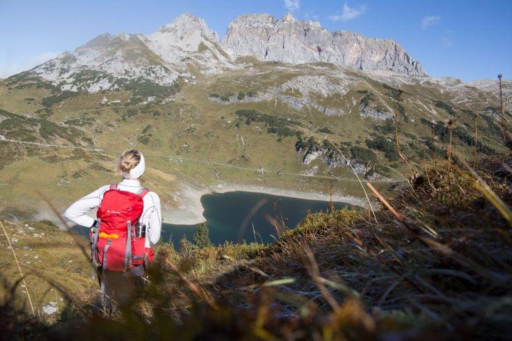 Alleine unterwegs am Lechweg - von der Quelle in Vorarlberg über Tirol bis hin zum Lechfall in Füssen.