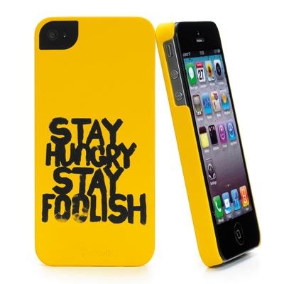 Muvit colora lo smartphone Apple con il design celebrativo Stay Hungry Stay Foolish® e i suoi colori brillanti.