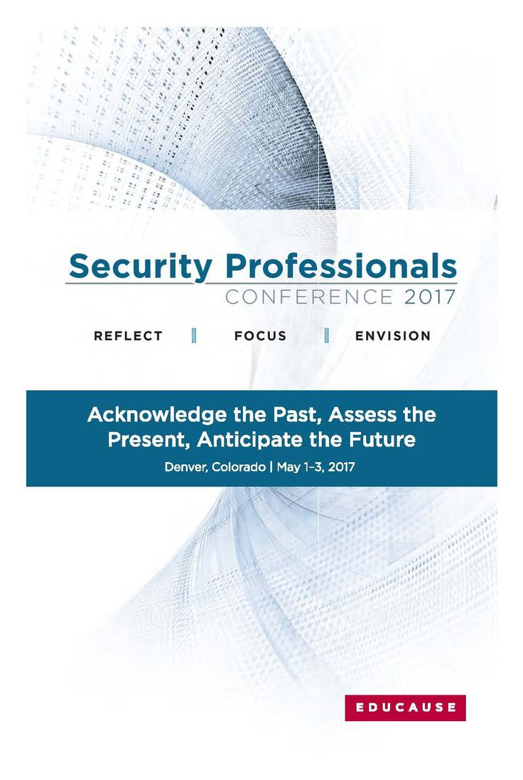 2017 Security Professionals Conference in Denver, Colorado (May 1-3, 2017) #Security17