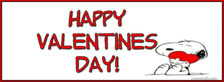 Snoopy Valentine Facebook Covers, Snoopy Valentine FB Covers, Snoopy Valentine Facebook Timeline Covers, Snoopy Valentine Facebook Cover Images