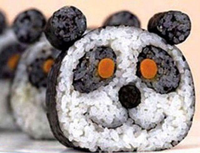 Panda sushi 🐼😍
