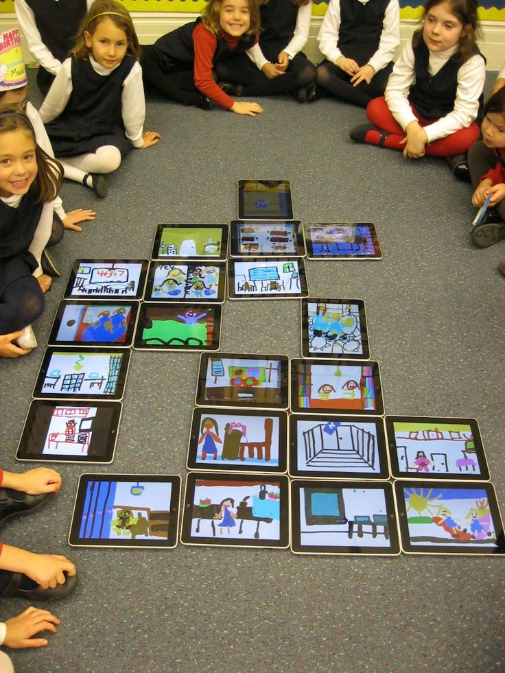 Looking for a first week lesson on using iPads? With Doodle Buddy create a map of your school!