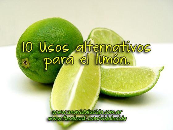 10 Usos alternativos para el limón.