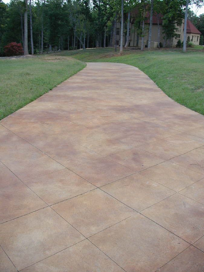 Superb Stained Concrete Patio | Db_acid_stained_broomed_finished_concrete1