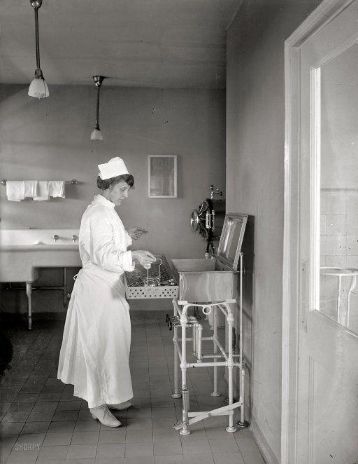 Nurse, 1922.