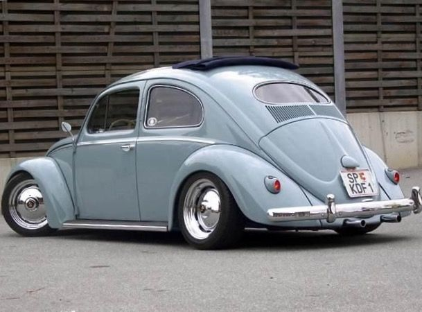 Likable Dropped Oval Rag Top Wheels Are Looking Better To Me Vw Early Iron Beetles Beetle Volkswagen