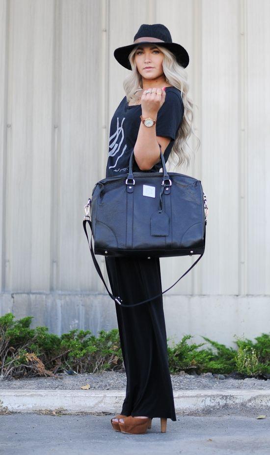 caraloren modeling our bag