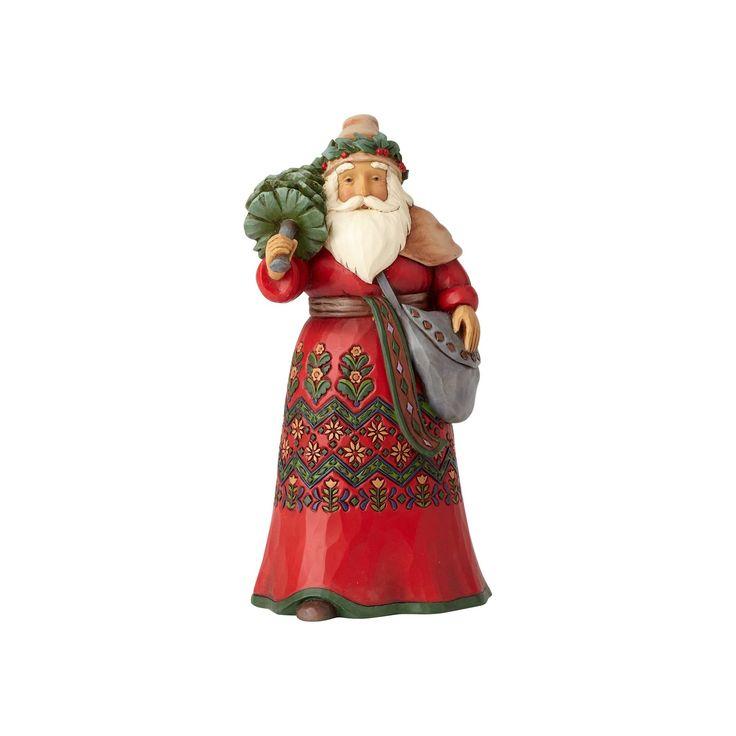 Swedish Wishes-Sweden Santa Figurine