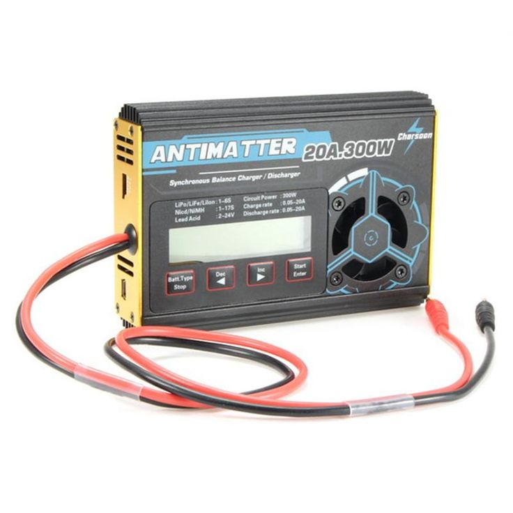 High Quality Charsoon Antimatter 300W 20A Balance Charger