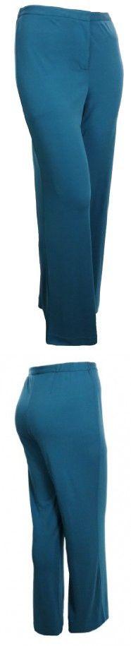 Sutton Studio Womens Wide Leg Trouser Pants Plus (22W)