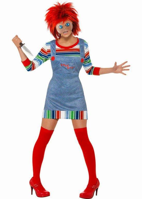 Disfraz Chica Chucky El Muñeco Diabólico