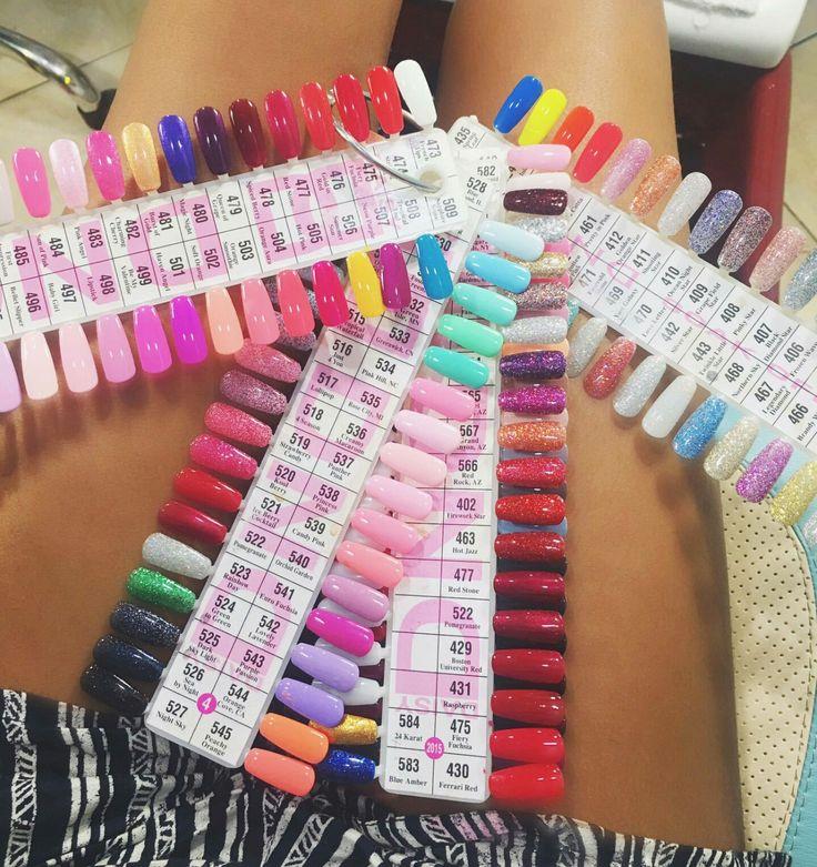 #gel #nails #colors #beautiful