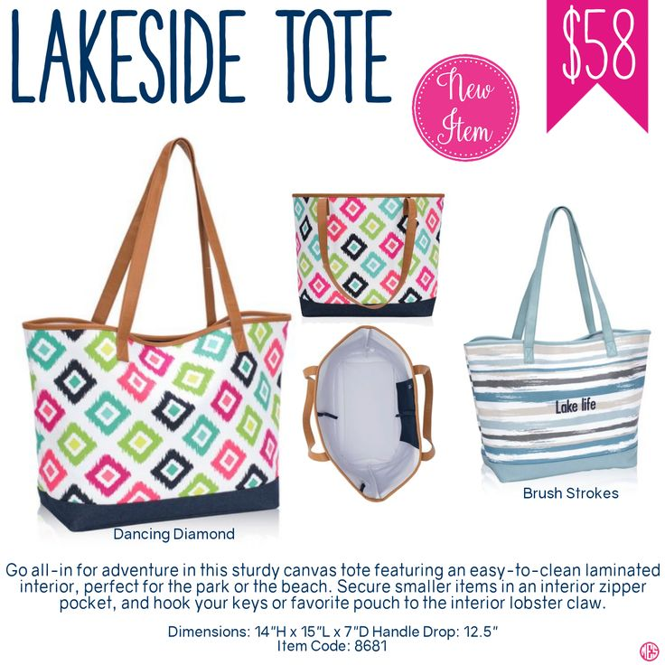 Thirty-One Lakeside Tote - Spring/Summer 2017