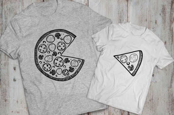 Pizza shirt Pizza shirts Matching pizza shirts I by EpicTees4You