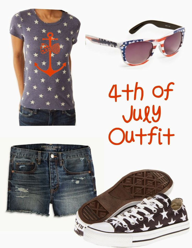 fourth of july anchor shirt