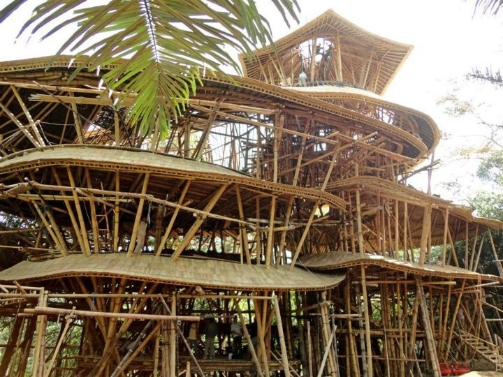 Bamboo Construction Bamboo Pinterest