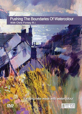 Townhouse DVD : Pushing The Boundaries Of Watercolour : Chris Forsey R.I.http://www.jacksonsart.com/p59069/Townhouse_DVD_:_Pushing_The_Boundaries_Of_Watercolour_:_Chris_Forsey_R.I./product_info.html #dvd #instructional #watercolour #learn #artdvd