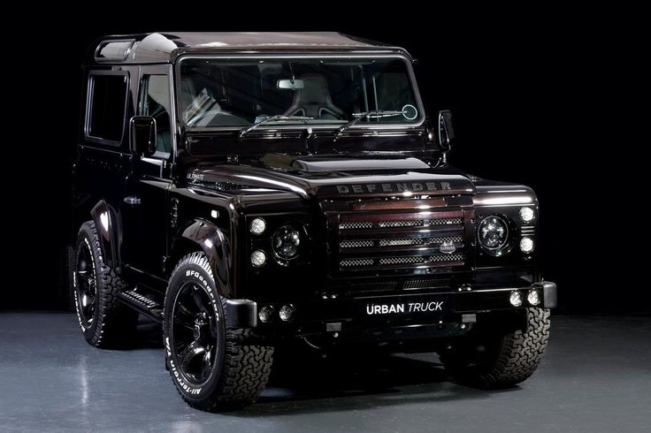 Urban Truck is coming to this year's Goodwood Festival of Speed with a range of high-end Defenders, topped off with this, the Ultimate Edition 90 hardtop. Description from motorward.com. I searched for this on bing.com/images
