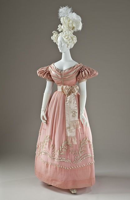 "So ""Wives and Daughters"" Evening Dress 1830"