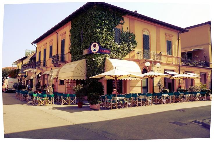 Forte dei Marmi (Lucca - Tuscany). Caffè Sambo.
