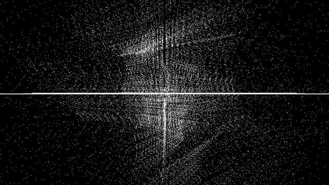 Generated in real-time with TouchDesigner. Particles system that reacts to the audio of Woulg and a tracked called 'Rupture'. Played live with an Ipad via OSC.