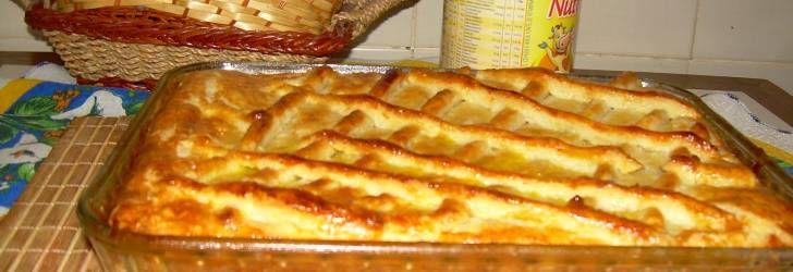 Receita de Deliciosa torta de frango com requeijão - Receitas Supreme