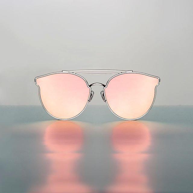 d2d4f849df Gentle Monster 2017 Collection  Add Moon  in pink  gentlemonster  sunglasses   addmoon