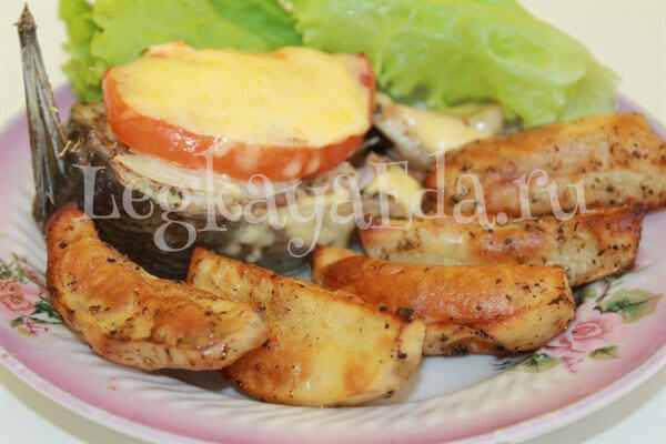 Картошка по-деревенски в духовке рецепт с фото и видео пошагово. Вкусно и быстро!