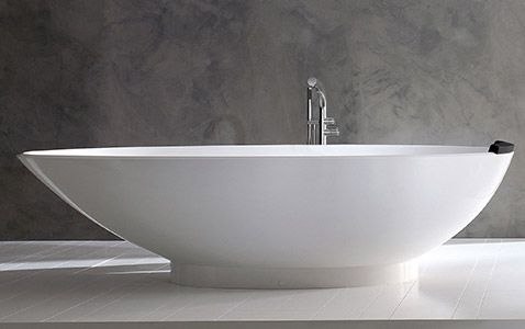Napoli tub | Victoria + Albert tubs  - I LOVE MY TUB SO MUCH THAT IT NEEDS TO COME TO MY NEW BATHROOM WITH ME! I joke that if our house were on fire I'd try to take the tub, joking I should probably have a fire box of some sort instead.