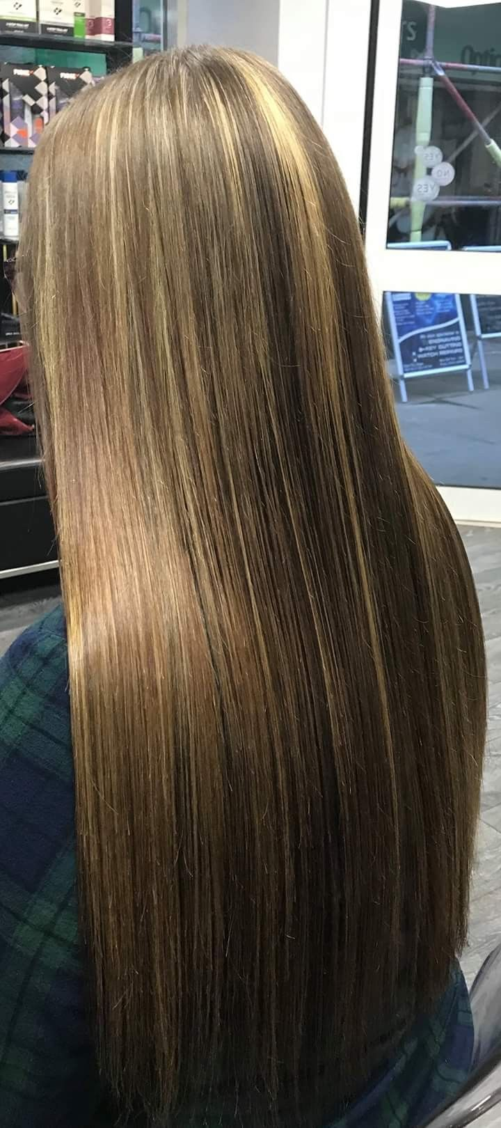 Half Head Of Highlights On 27 Long Hair By Rea J At Aqua Hair In Beauty I Can Say I Am Pleased With The Long Hair Styles Long Straight Hair Super Long
